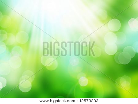 Beautiful Nature Bokeh.Blurred background poster