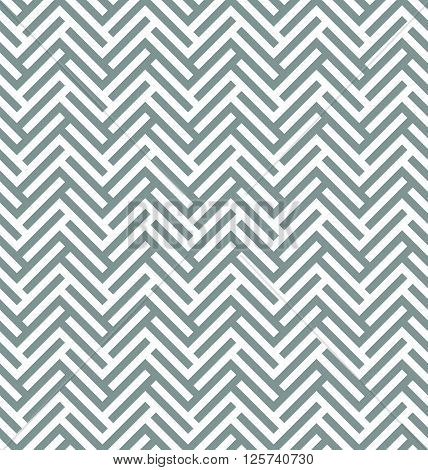 Modern Simple Geometric Fabric Texture With Repeating Parquet Looking Herringbone Pattern - Vector S