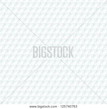 Abstract Vector Seamless Pattern - Bubble Wrap Roll Design Background