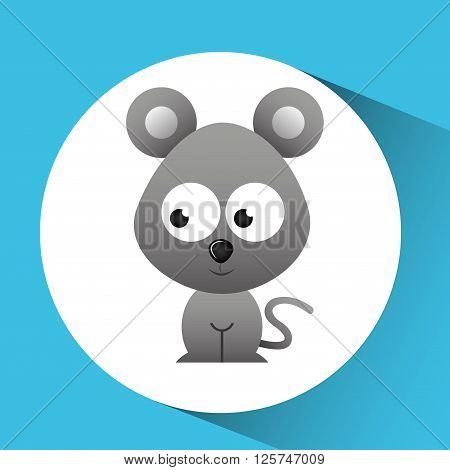 cute animal design, vector illustration eps10 graphic