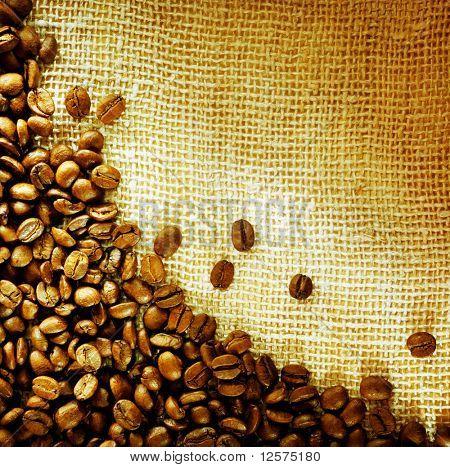 Coffee Beans Border Design
