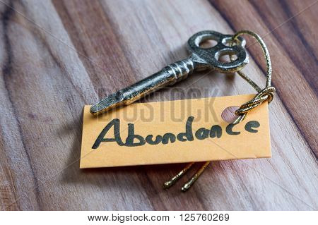 Secret Key For Abundance In Life