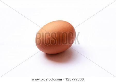 egg isolated on white background. egg isolated