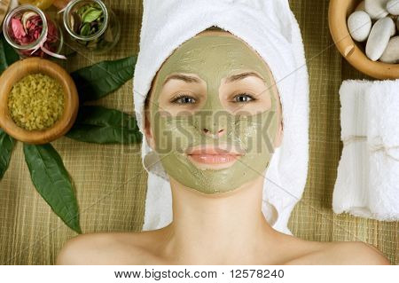 Spa Facial Mud Mask.Dayspa poster
