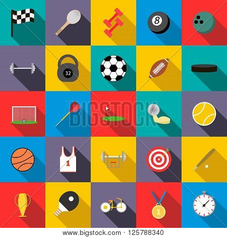 Sports set icons use for any design