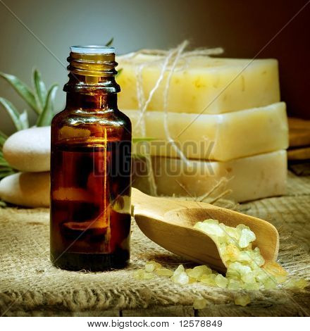 Spa Essential Oil. Aromatherapy.
