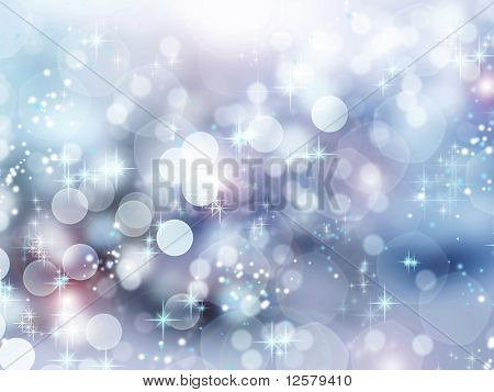 Winter Holidays Abstract Background