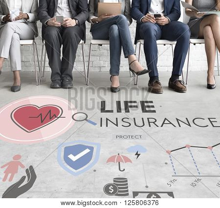 Life Insurance Protection Beneficiary Safeguard Concept