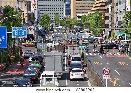 Traffic In Japan