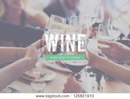 Wine Dining Celebration Toast Meal Concept
