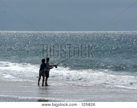 Fishing Couple