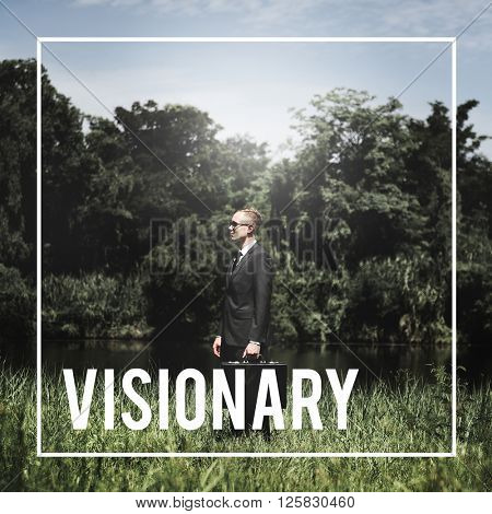 Vision Visionary Imaginary Expection Concept poster