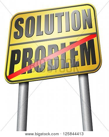 problem solution searching solutions by solving problems sign