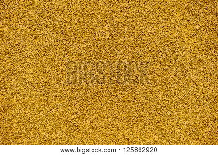 Golden Revetment Wall Putty Macro Texture Background