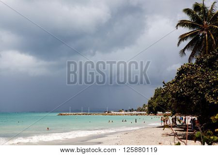 Caribbean beach - Guadeloupe, Lesser Antilles