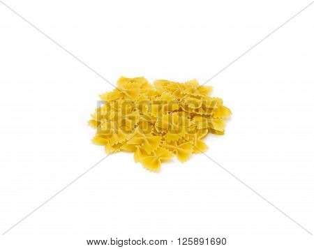 Image of Bowtie Noodles isolated on white background
