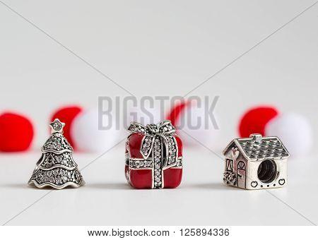 jewelry bracelet female on a white background amulets jewelry macro