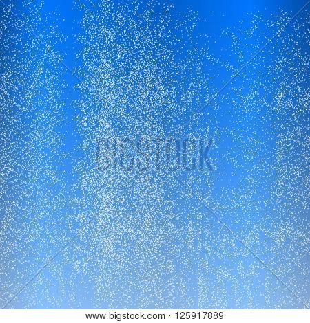 Vector illustration background of water in the aquarium.