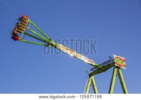 MUNICH, GERMANY - OCTOBER 02: Fun ride