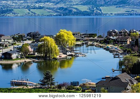 Green Bay Lakefront Subdivision on Okanagan Lake West Kelowna British Columbia Canada