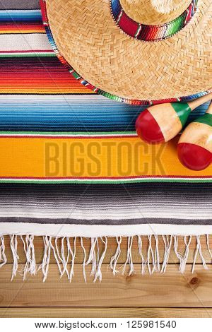 Mexico cinco de mayo mexican sombrero fiesta background
