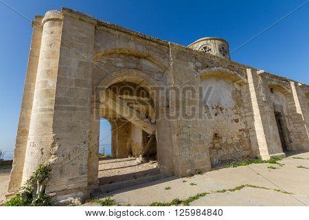 Derelict Agios Georgios Church, In Davlos, Cyprus