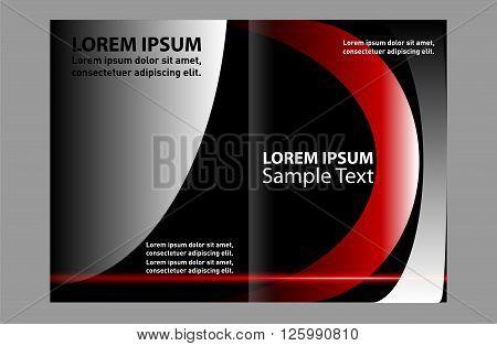 Brochure design. Business brochure Flyer Template abstract