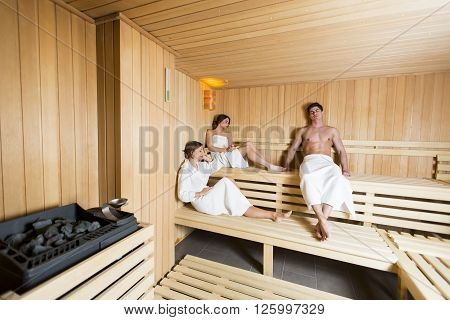 People In The Sauna