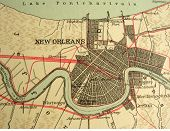 the way we looked at new orleans in 1949. poster