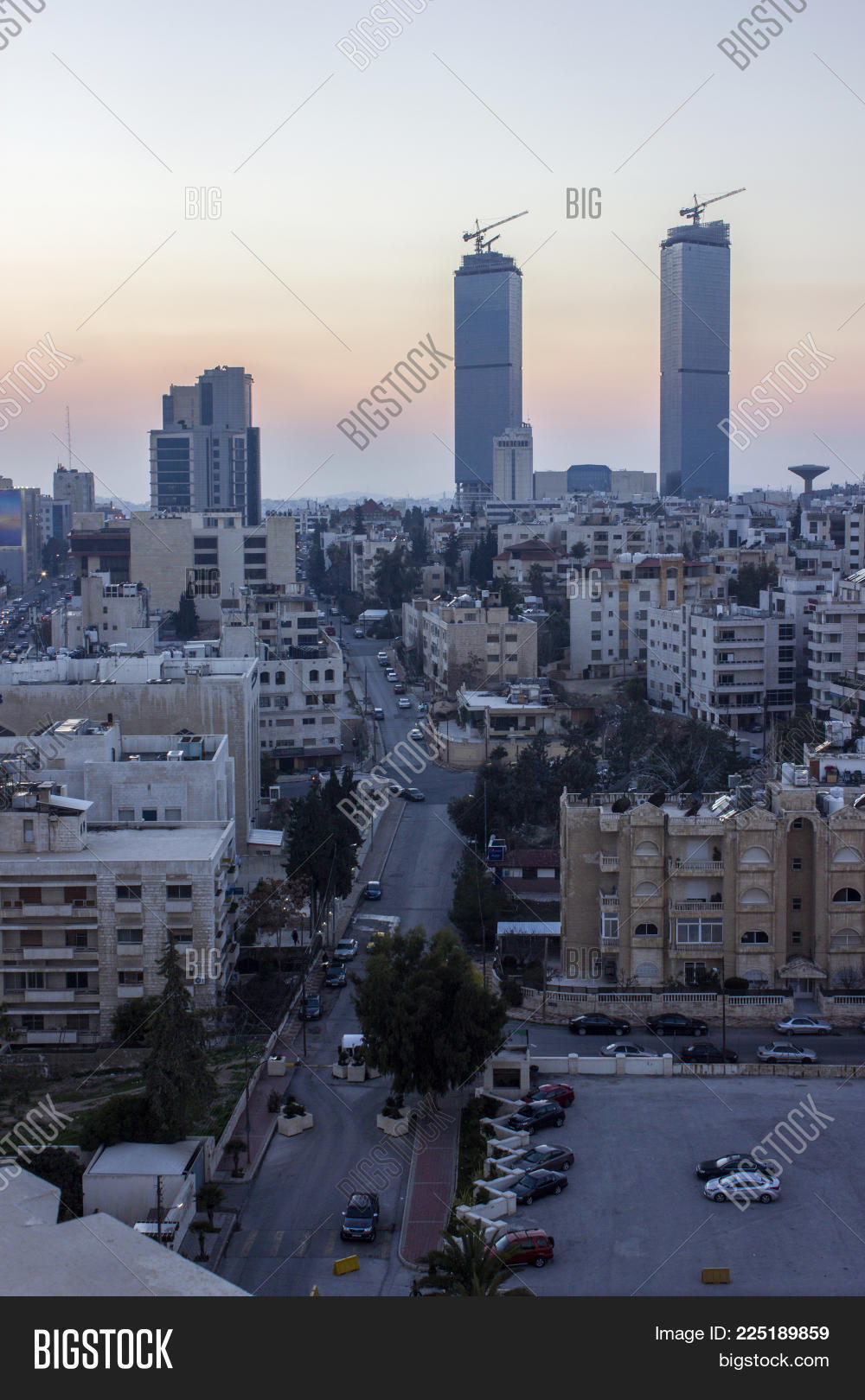 The New Downtown Of Amman Abdali Area