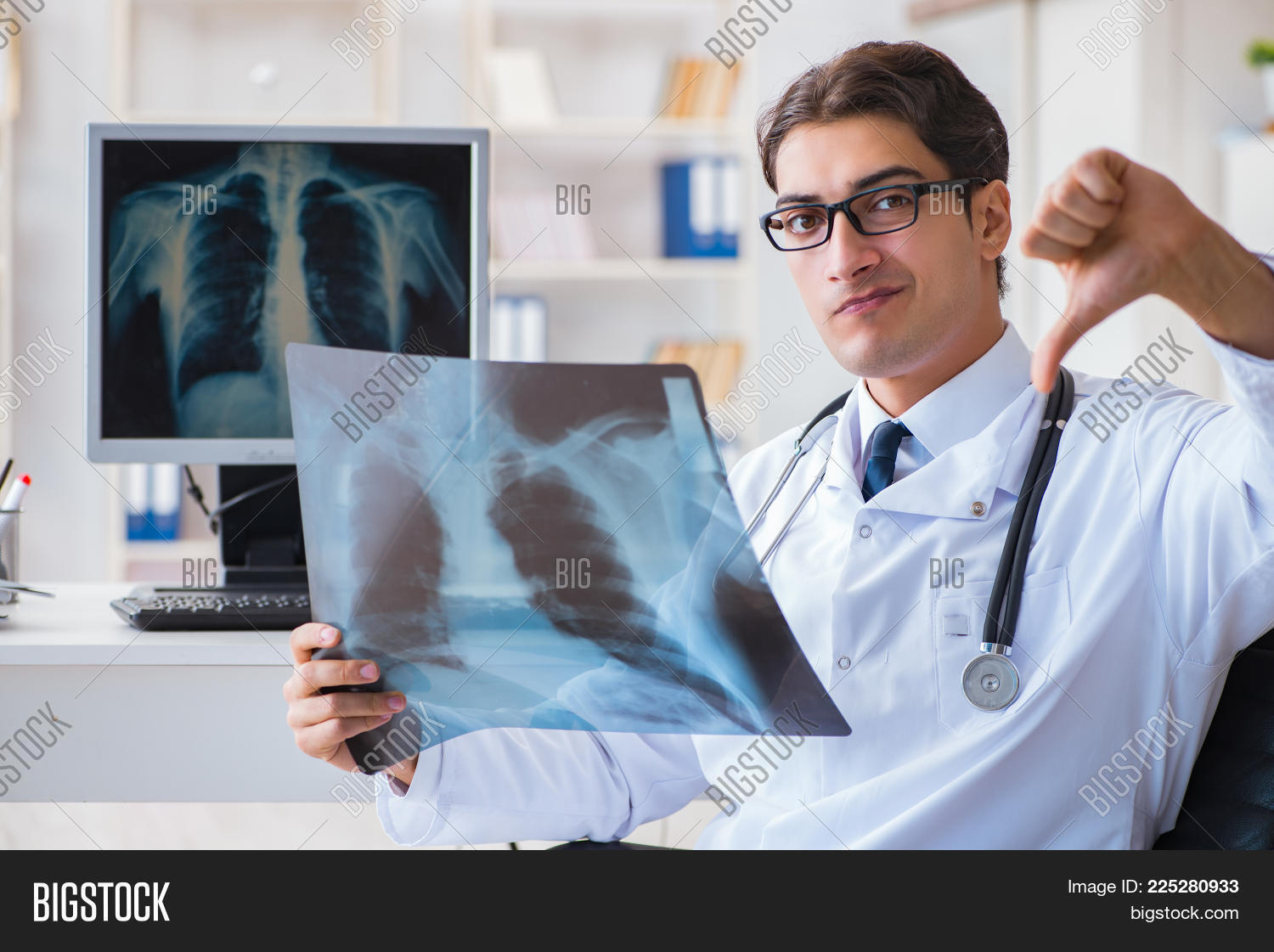 Doctor Radiologist Image Photo Free Trial Bigstock