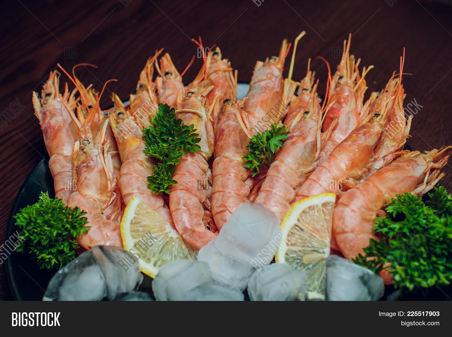 Argentine Raw Shrimp Image Photo Free Trial Bigstock