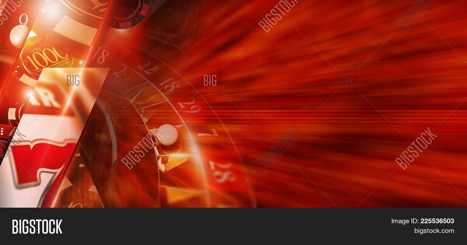 Hot Red Casino Banner Image Photo Free Trial Bigstock