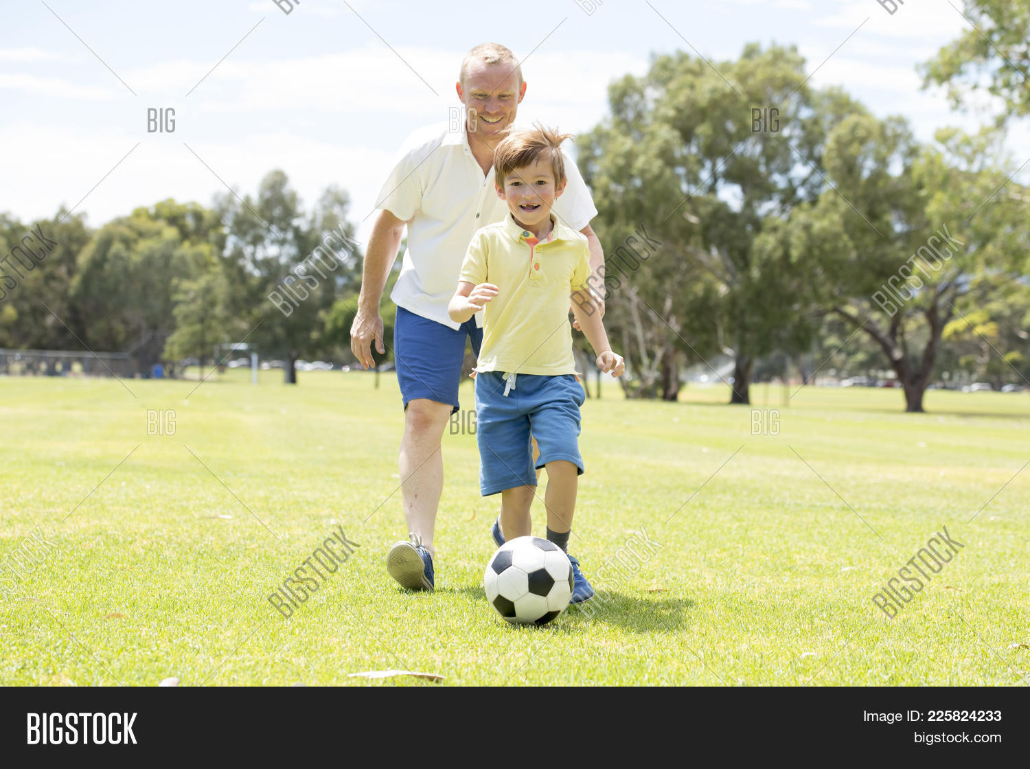 Young Happy Father Image & Photo (Free Trial) | Bigstock
