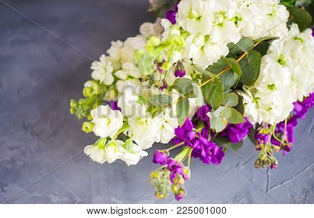 Beautiful Snapdragon Flowers In A Bouquet