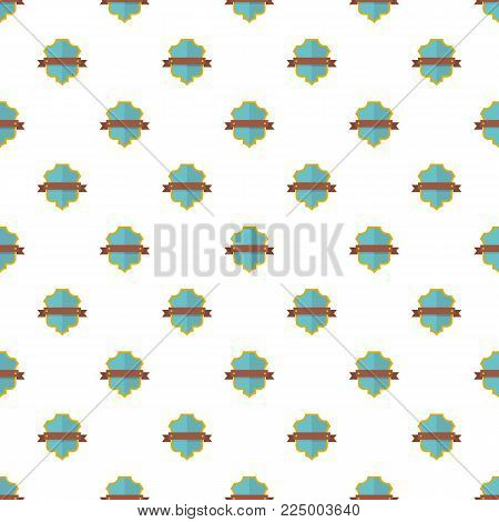 Badge guardian pattern seamless in flat style for any design