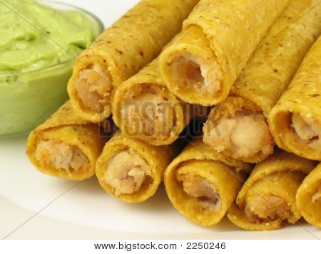 Taquitos And Guacamole 2