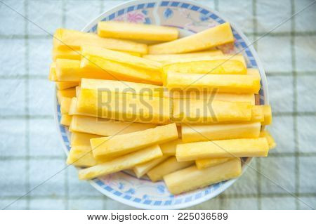 Pineapple Core Good food and High Bromelain Nutrition and Fiber for Diet