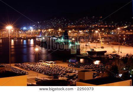 The Port Of Piraeus