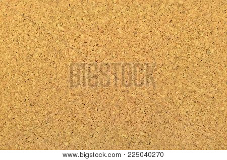 Cork Board Texture Background, Bright Horizontal Textured Corkboard Macro Closeup, Large Detailed Decorative Beige Brown Natural Pattern, Blank Empty Copy Space