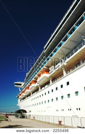 Cruise Ship Starboard Bow