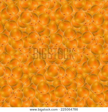Grapefruit citrus fruit seamless pattern texture background