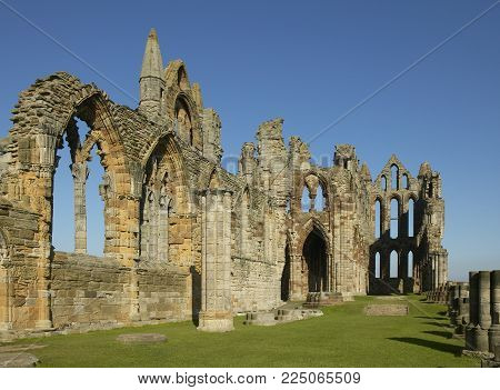 Whitby Abbey Ruin Yorkshire England