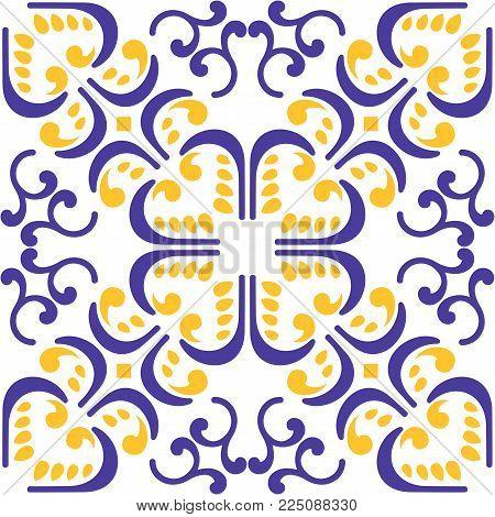 Vector Moroccan Tile Vector & Photo (Free Trial) | Bigstock