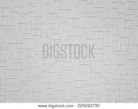 White Wallpaper Texture.