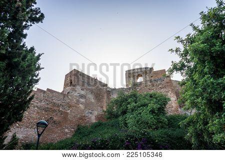 Gibralfaro Castle (alcazaba De Malaga), Malaga, Costa Del Sol, Spain, Europe