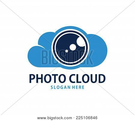 Vector Photo Gallery Cloud Online Cloud Storage Logo Design