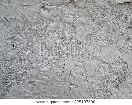 Close up of Details in Textured Weathered Wall