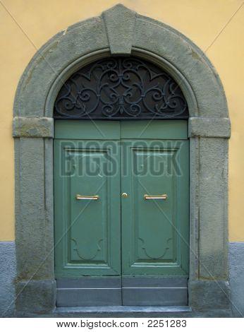 Traditional Wooden Italian Door