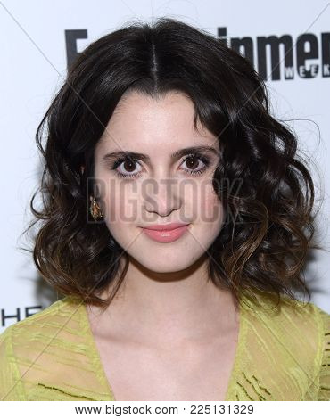 LOS ANGELES - JAN 20:  Laura Marano arrives for the EW Magazine honors SAG Nominees on January 20, 2018 in West Hollywood, CA